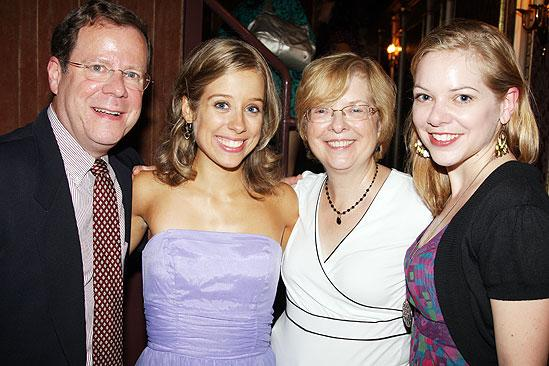 Beth Leavel debut in Mamma Mia – Alyse Alan Louis – family