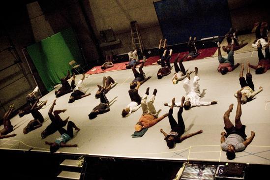 Fela Rehearsal - Yoga