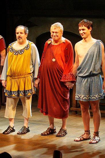 Keep Your Pantheon Opening - John Pankow - Brian Murray - Michael Cassidy - curtain