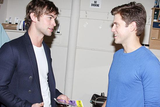 Chace Crawford at Next to Normal – Chace Crawford – Aaron Tveit