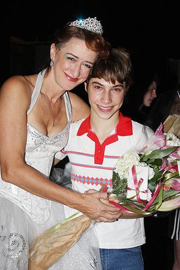 Kiril Kulish and Hadynn Gwynne Last Billy Elliot Performance - Haydn Gwynne - Kiril Kulish