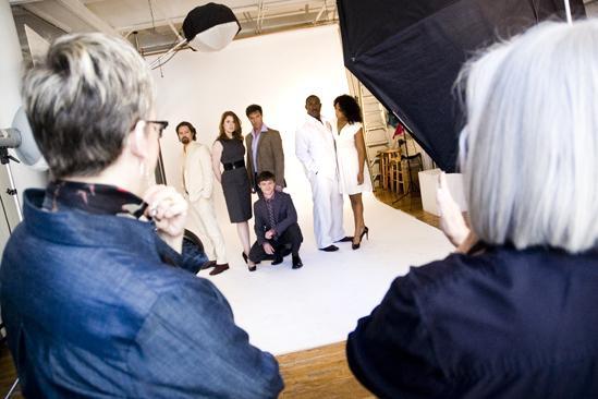 Ragtime Promo Shoot – cast