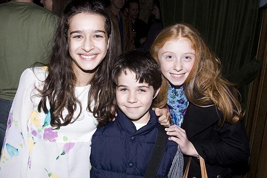 Mary Poppins New Cast 2009 – Alexandra Berro – Jeremiah Kissane – Juliette Allen Angelo