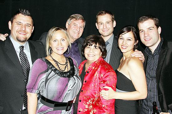 Memphis Opening - Chad Kimball - family