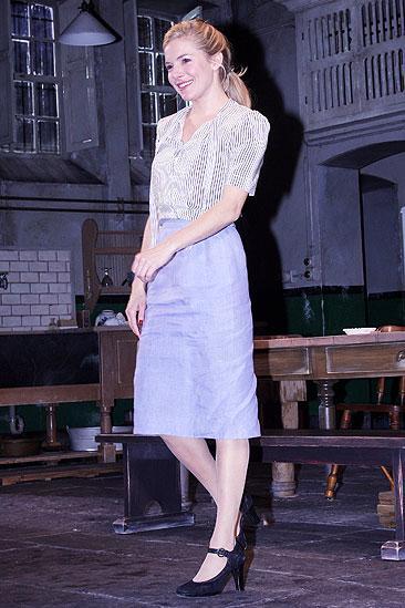 After Miss Julie Opening - Sienna Miller