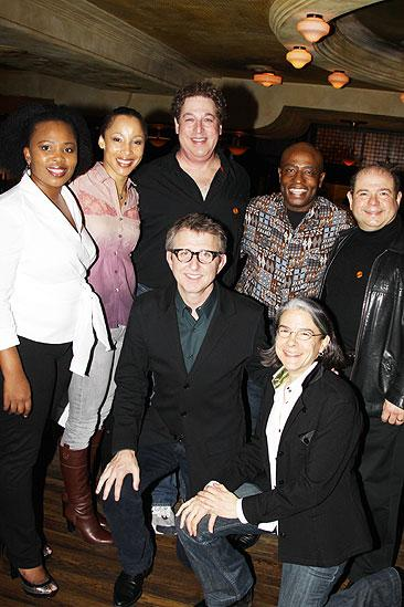 The Lion King Celebrates 5000 perfs – Thomas Shumacher – original cast members