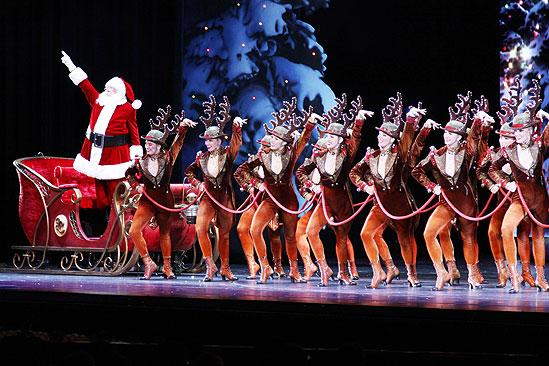 Make-A-Wish Foundation at The Radio City Christmas Show - Santa