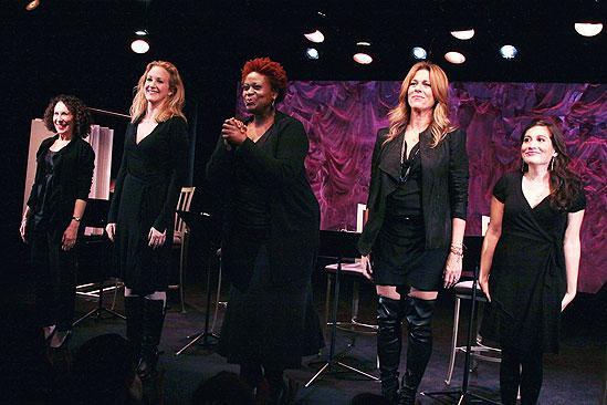 November 2009 cast of Love, Loss – curtain call