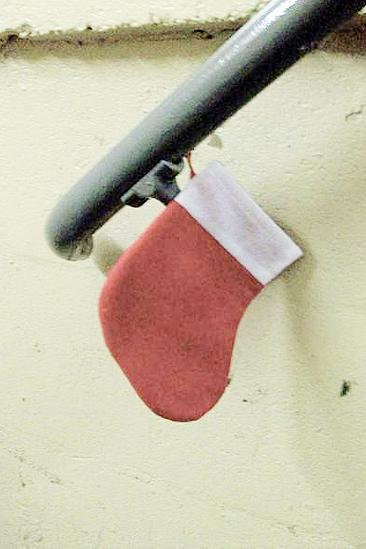 Rondi Reed Seasonal Snapshots at Wicked – munchkin stocking