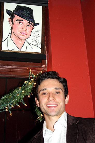 Rick Faugno Caricature at Sardi's – Rick Faugno