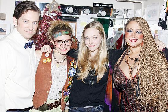 Amanda Seyfried and Dominic Cooper at Rock of Ages - Tom Lenk - Lauren Molina - Amanda Seyfried - Michele Mais