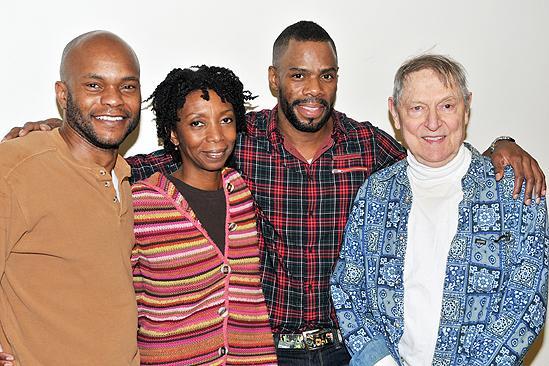 Scottsboro Boys meet and greet – Forrest McClendon – Sharon Washington – Colman Domingo – John Cullum