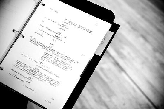 Next Fall Rehearsal - Script