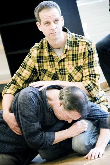 Next Fall Rehearsal - Patrick Breen - Cotter Smith