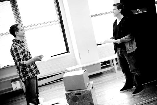 Next Fall Rehearsal - Patrick Breen - Patrick Heusinger