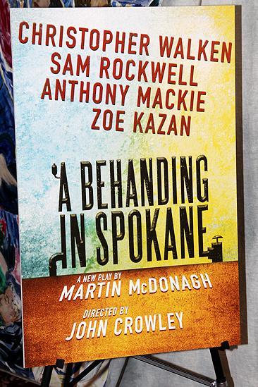 A Behanding in Spokane meet and greet – poster