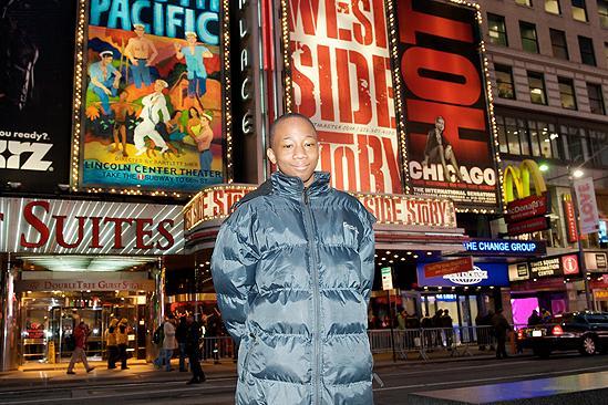 Make a Wish Foundation at West Side Story - Elijah