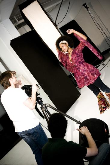 Hair 2010 Ad Photo Shoot - Nicole Lewis - Josh Lehrer