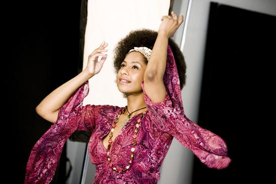 Hair 2010 Ad Photo Shoot - Nicole Lewis (arms)