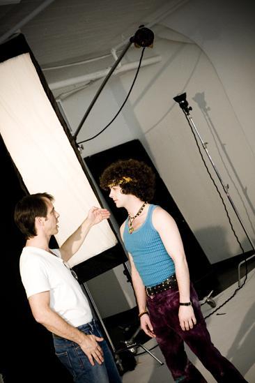 Hair 2010 Ad Photo Shoot - Larkin Bogen - Josh Lehrer