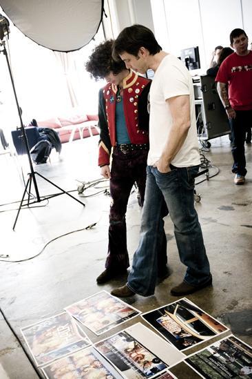 Hair 2010 Ad Photo Shoot - Josh Lehrer - Larkin Bogen