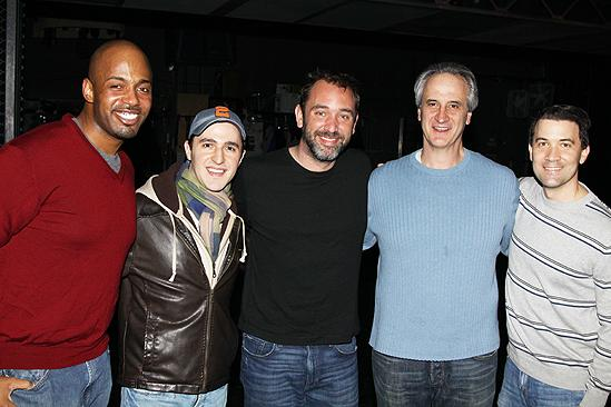 Trey Parker at Jersey Boys – Mark Lotito – Trey Parker – Kris Coleman – Russell Fischer – Mark Lotito – Miles Aubrey