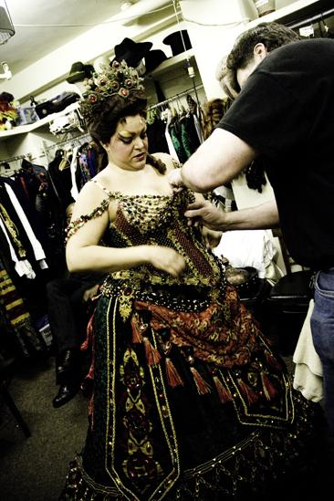 Day in the Life of Phantom of the Opera – Patricia Phillips