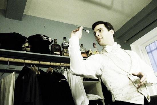 Day in the Life of Phantom of the Opera – Ryan Silverman (darts)