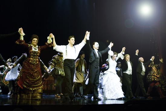Day in the Life of Phantom of the Opera – curtain call
