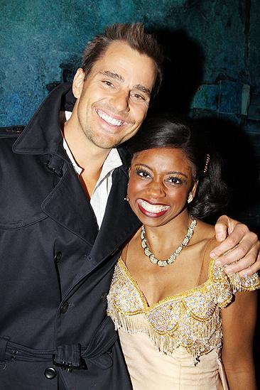 Giuliana & Bill and Adrienne Bailon at Memphis – Montego Glover – Bill Rancic
