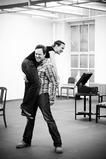 The Glass Menagerie Rehearsal – Patch Darragh – Keira Keeley