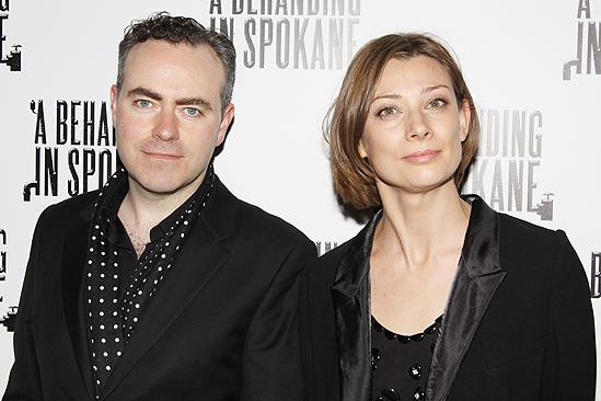 Behanding in Spokane Opening Night – John Crowley – girlfriend Fiona Weir