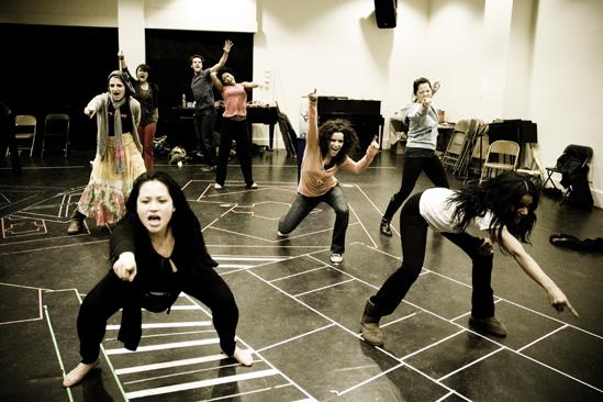 Hair Replacement Cast Rehearsal – Donna