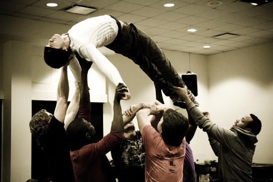 Hair Replacement Cast Rehearsal – Kyle Riabko (lifted)
