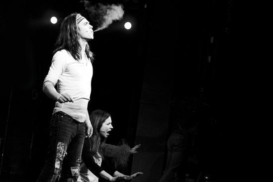 Hair Replacement Cast Rehearsal – Kyle Riabko (smoke)