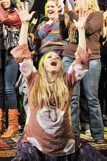 Hair New Cast First Performance – Annaleigh Ashford
