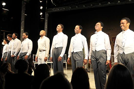 Scottsboro Boys Opening Night – curtain call