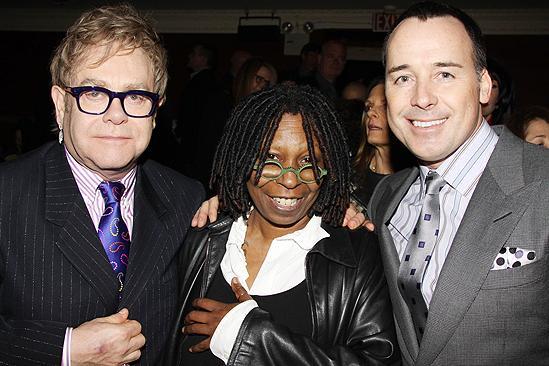 Next Fall First Opening - Elton John - Whoopi Goldberg - David Furnish