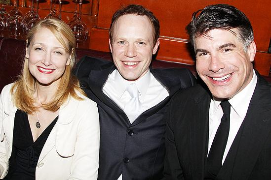 Next Fall Opening Night – Patricia Clarkson – Sean Dugan – Bryan Batt