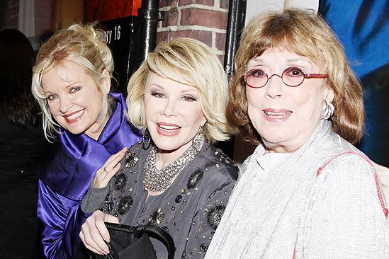 Next Fall Opening Night – Christine Ebersole – Joan Rivers – Phyllis Newman