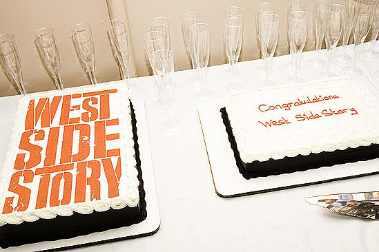 West Side Story first anniversary – cake