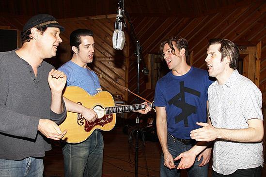 Million Dollar Quartet Recording Session – Lance Guest – Eddie Clendening – Levi Kreis – Robert Britton Lyons