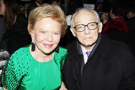 Come Fly Away opening – James M. Nederlander – wife Charlene