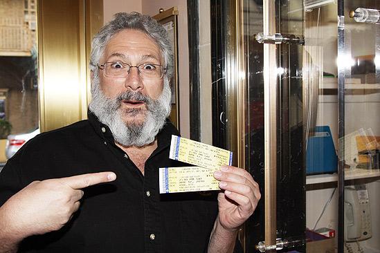 Harvey Fierstein at La Cage aux Folles Rehearsal – Harvey Fierstein