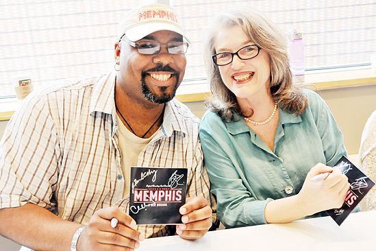 Memphis CD Signing – James Monroe Iglehart – Cass Morgan