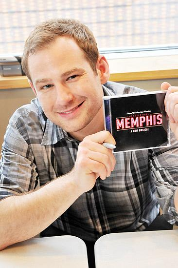 Memphis CD Signing – Chad Kimball (CD)