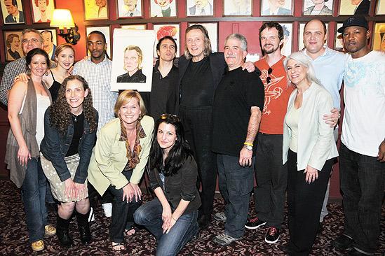 Christopher Walken at Sardi's – Christopher Walken - group