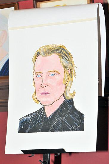 Christopher Walken at Sardi's – Christopher Walken portrait