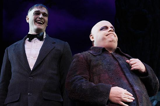 The Addams Family opening – cc - Zachary James – Kevin Chamberlin