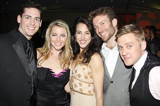 The Addams Family opening – Barrett Martin – Morgan James – Jessica Lea Patty – Colin Cunliffe – Michael Buchanan